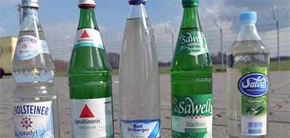 Wasser Mit Oder Ohne Kohlensäure