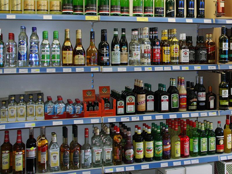 Spirituosen verschiedenster Marken – in unseren Fachmärkten